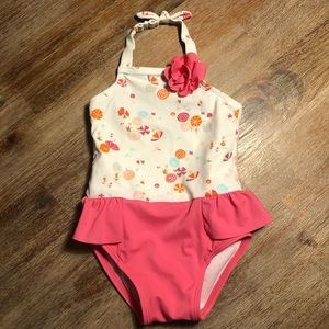 Janie & Jack Toddler Girls' Bathing Suit